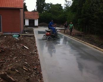 Peter Mentens BV  - Beton Polieren